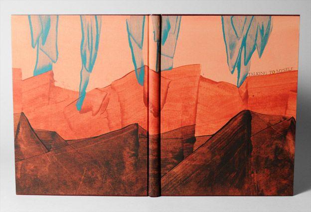 Talking to Myself: a blank journal - Millimeter Binding - Herringbone Bindery