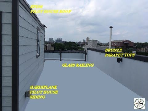 South Philly Fiberglass Roof Deck Disaster Fibreglass Roof Roof Deck Rooftop Deck