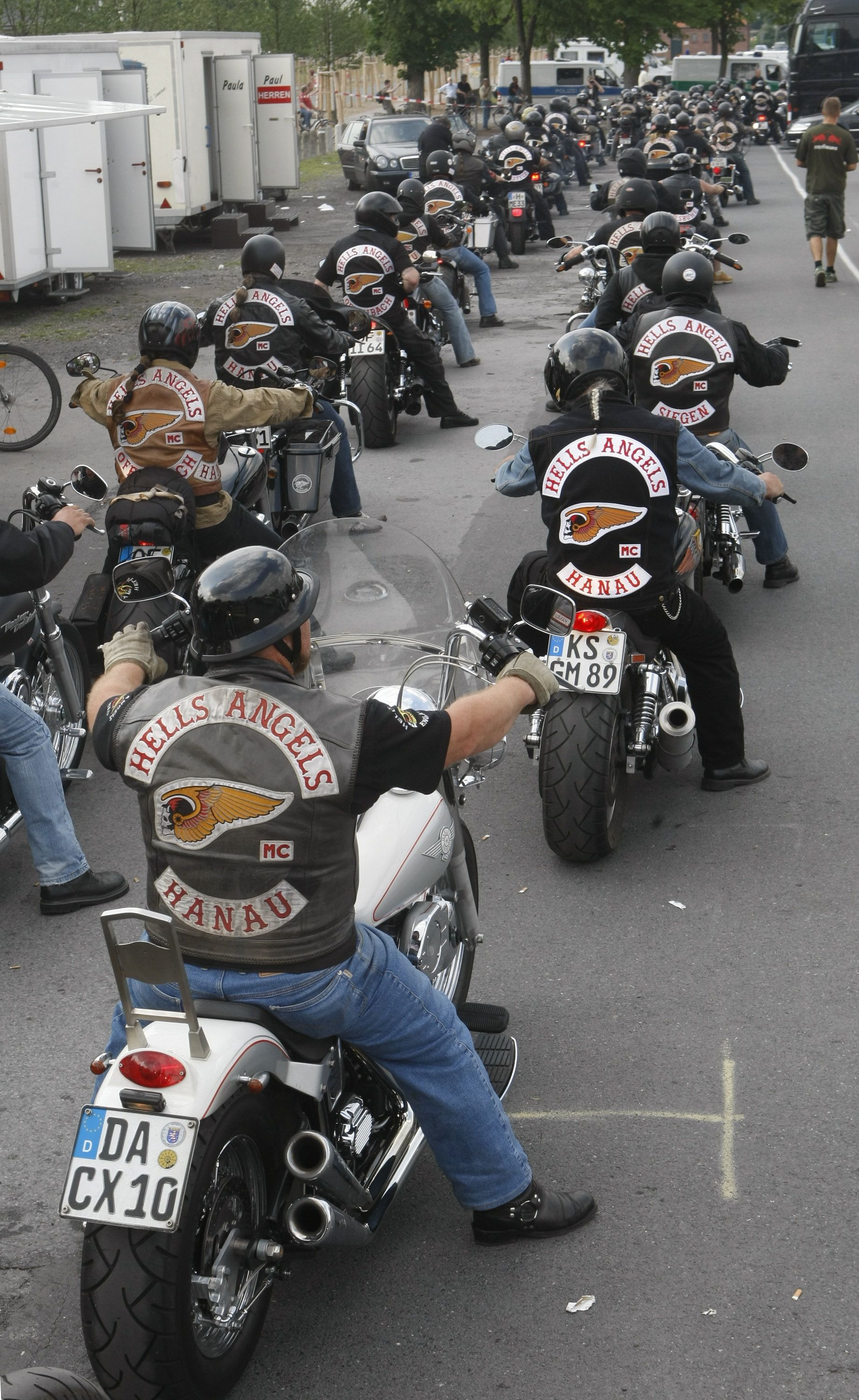 Hell's Angels Motorcycle Club | Bikers, a girls's dream