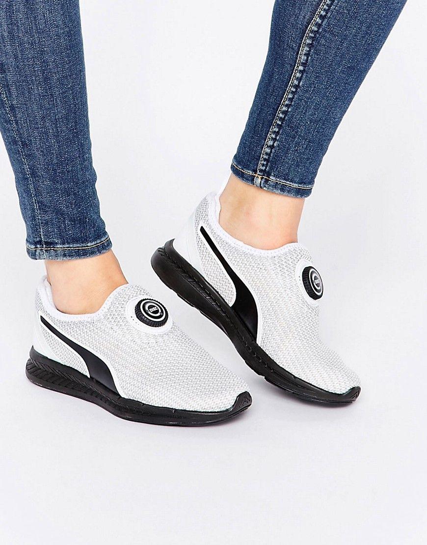 f6c38c2710a Cómpralo ya!. Zapatillas sin cordones con diseño de punto y disco ...