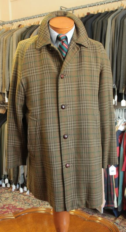 e5c380c143b2 Invertere check tweed car coat