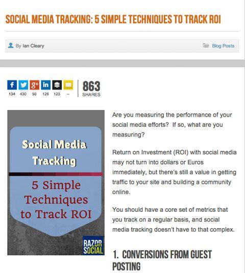 5 Ways to Use Metrics to Improve Your Social Media Marketing #socialmedia