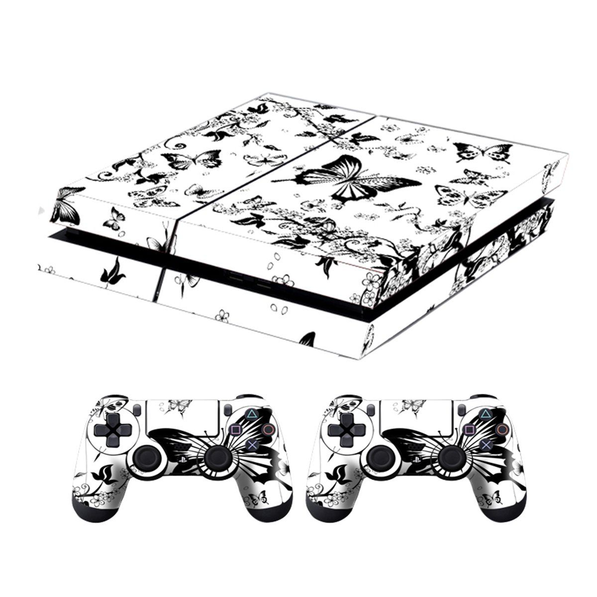 ps4 console designer skin for sony playstation 4 system plus two2 PS3 Controller Charger ps4 console designer skin for sony playstation 4 system plus two2 decals for ps4 dualshock controller white blossoms sonyplaystationaccessories