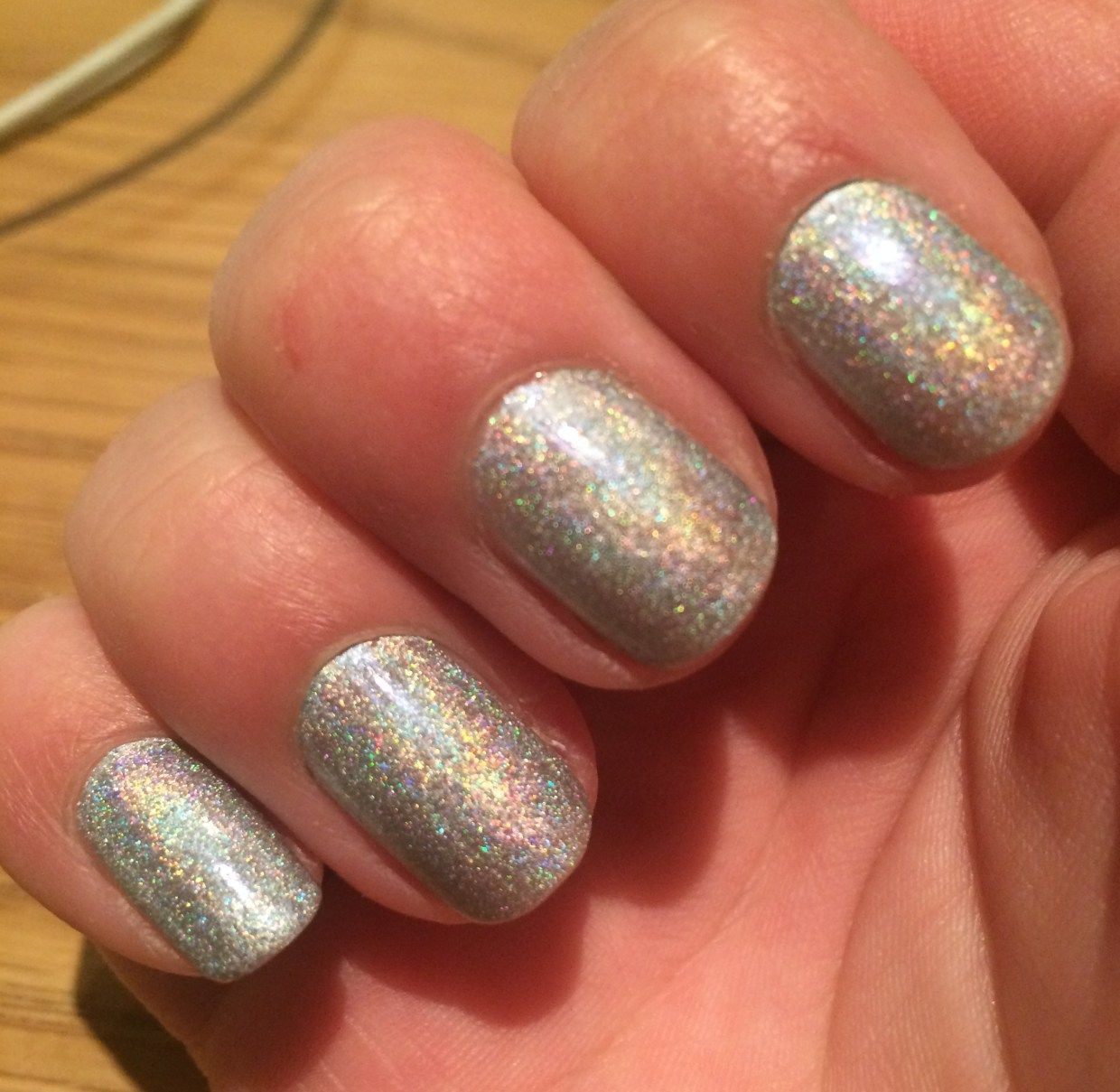 Wah Nails The Trillest Holographic Effect Pinterest Holographic