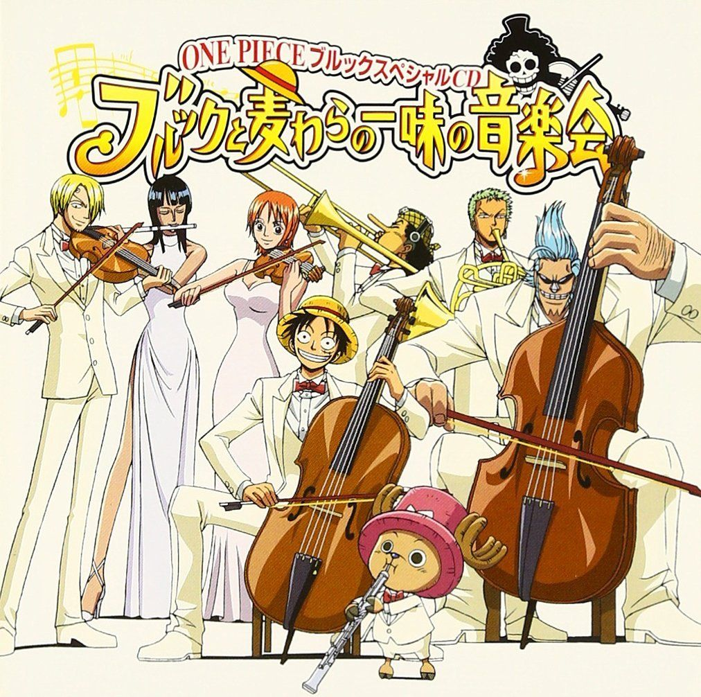 Ok But Sanji Has Been Drawn (by Oda) Playing The Violin