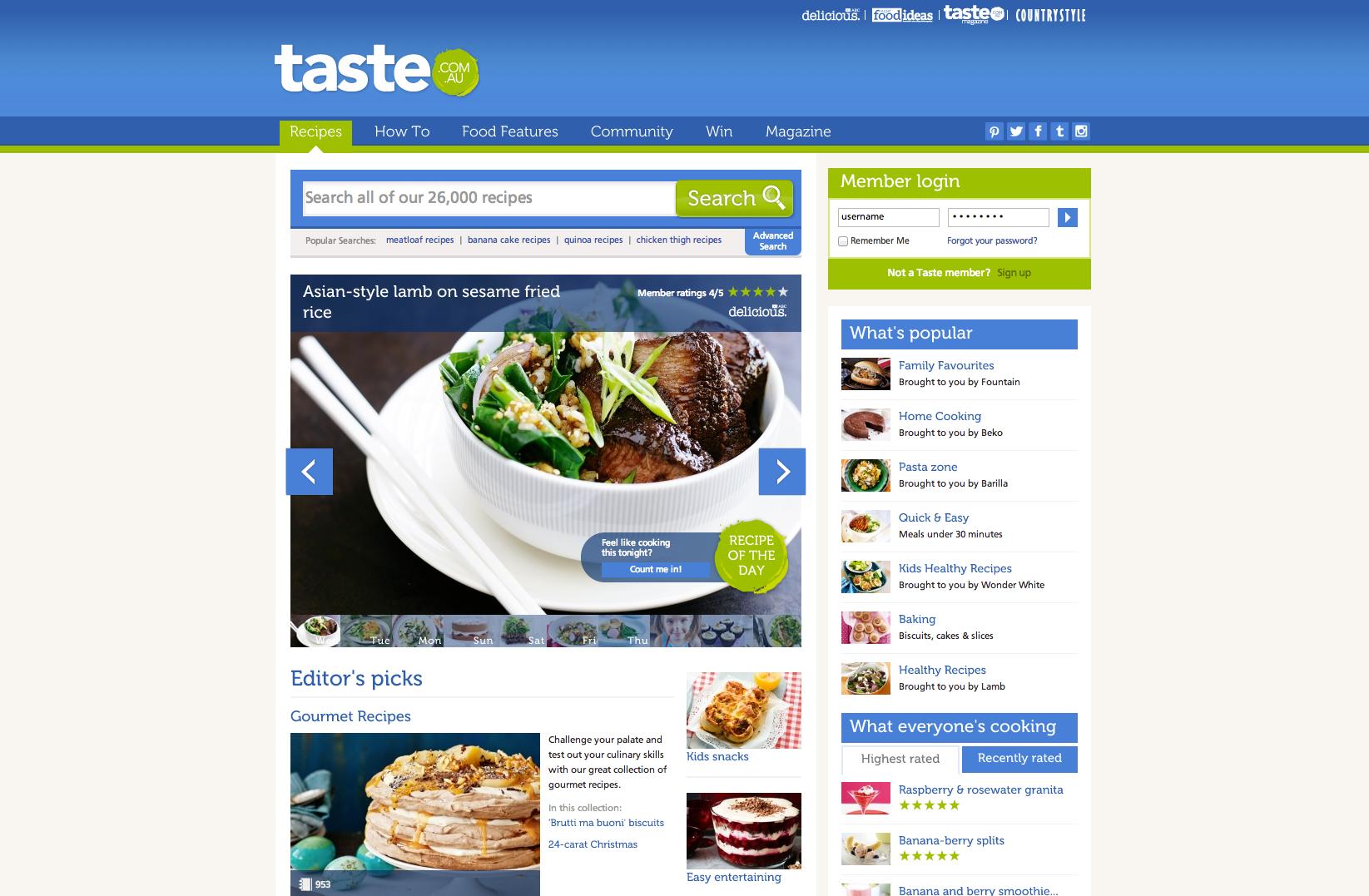 http://www.taste.com.au/