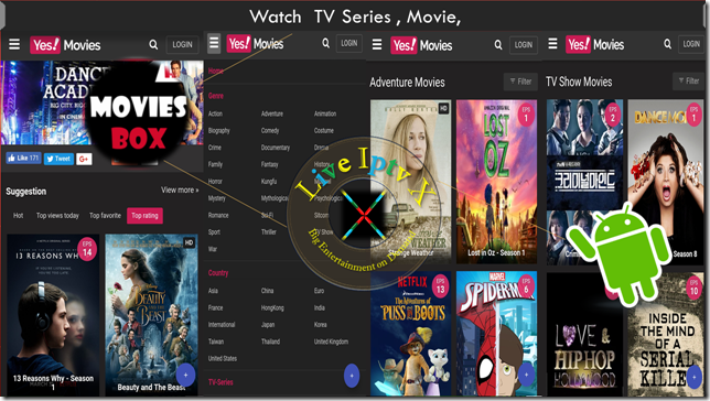 Watch TV Stream Online - Movies Box Unlimited APK For