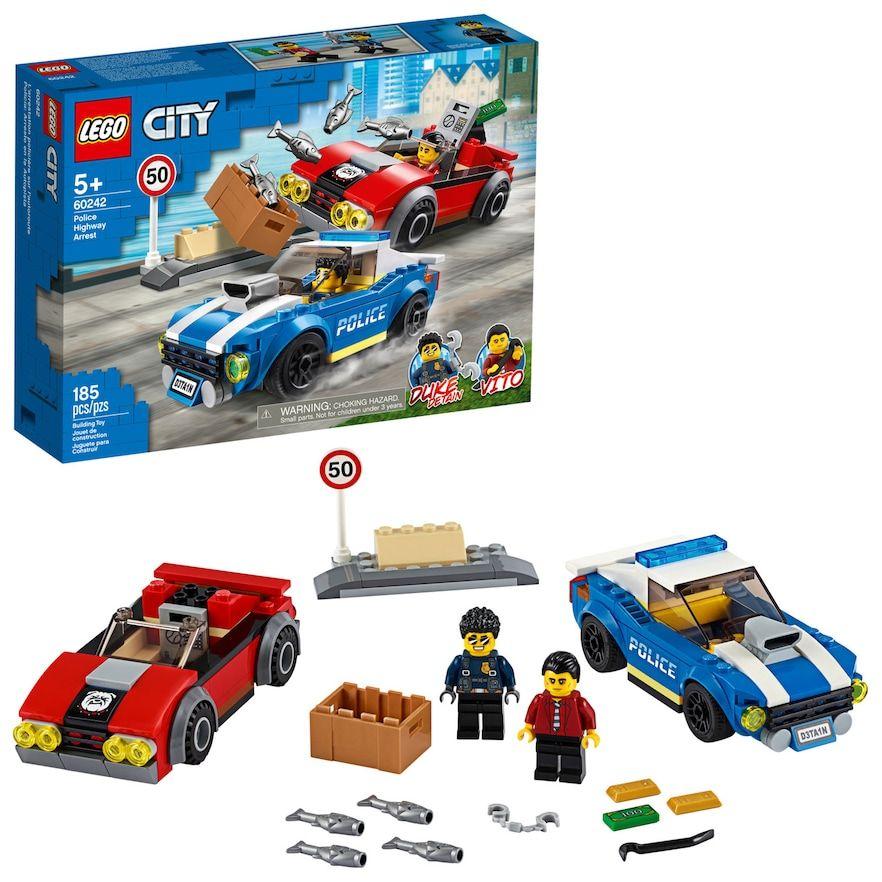 Lego City Police Highway Arrest 60242 Building Set Lego City Lego Police Lego City Police