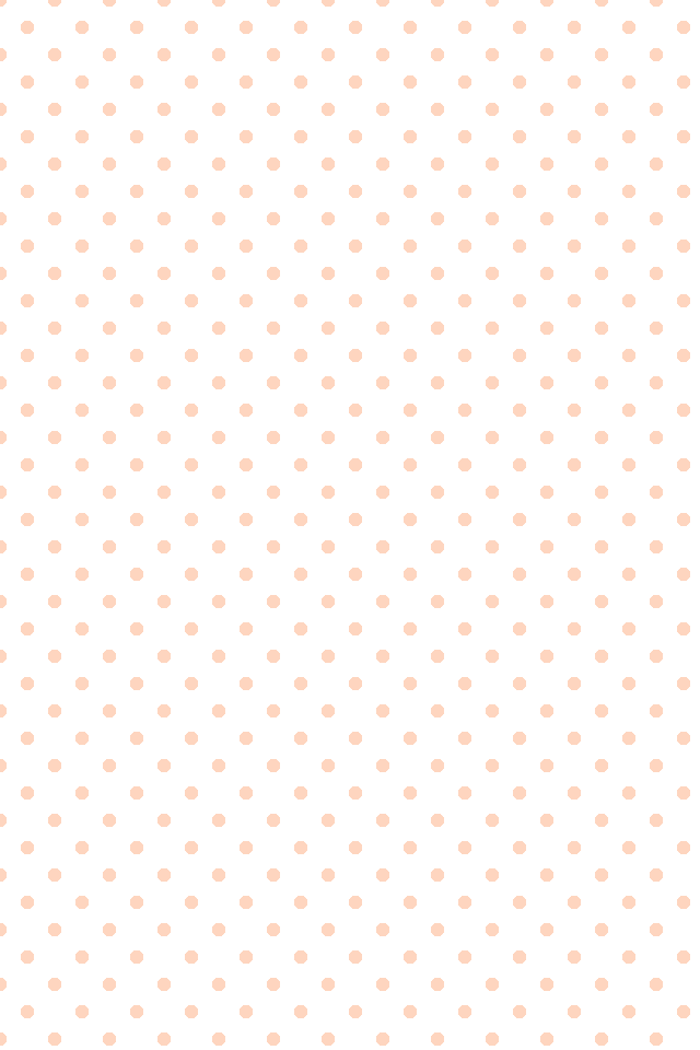 white blush coral peach mini polka dots spots iphone