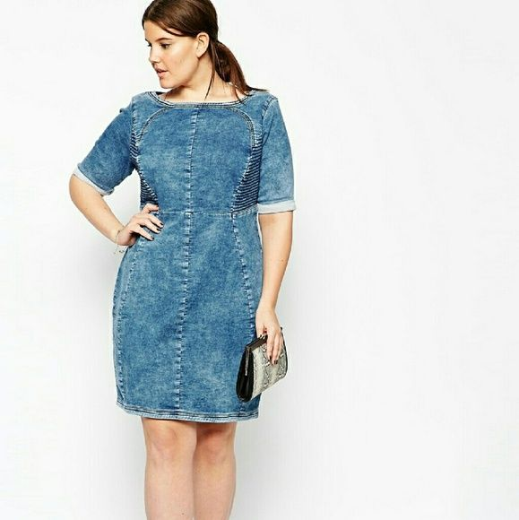 a3b58d01987 Carmakoma Kadina Denim Dress Purchased this great dress direct from  Carmakoma although the same exact dress was for sale via ASOS. Size 18 US  worn once ...