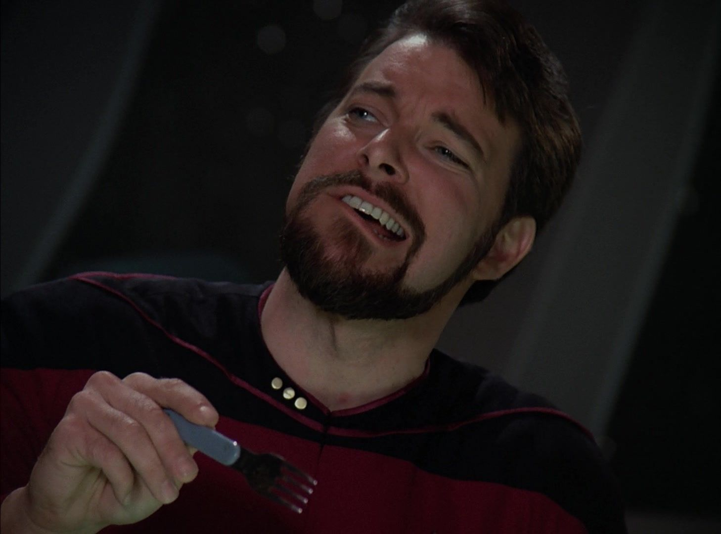Pulaski What Is That Riker It S A Klingon Delicacy Star Trek