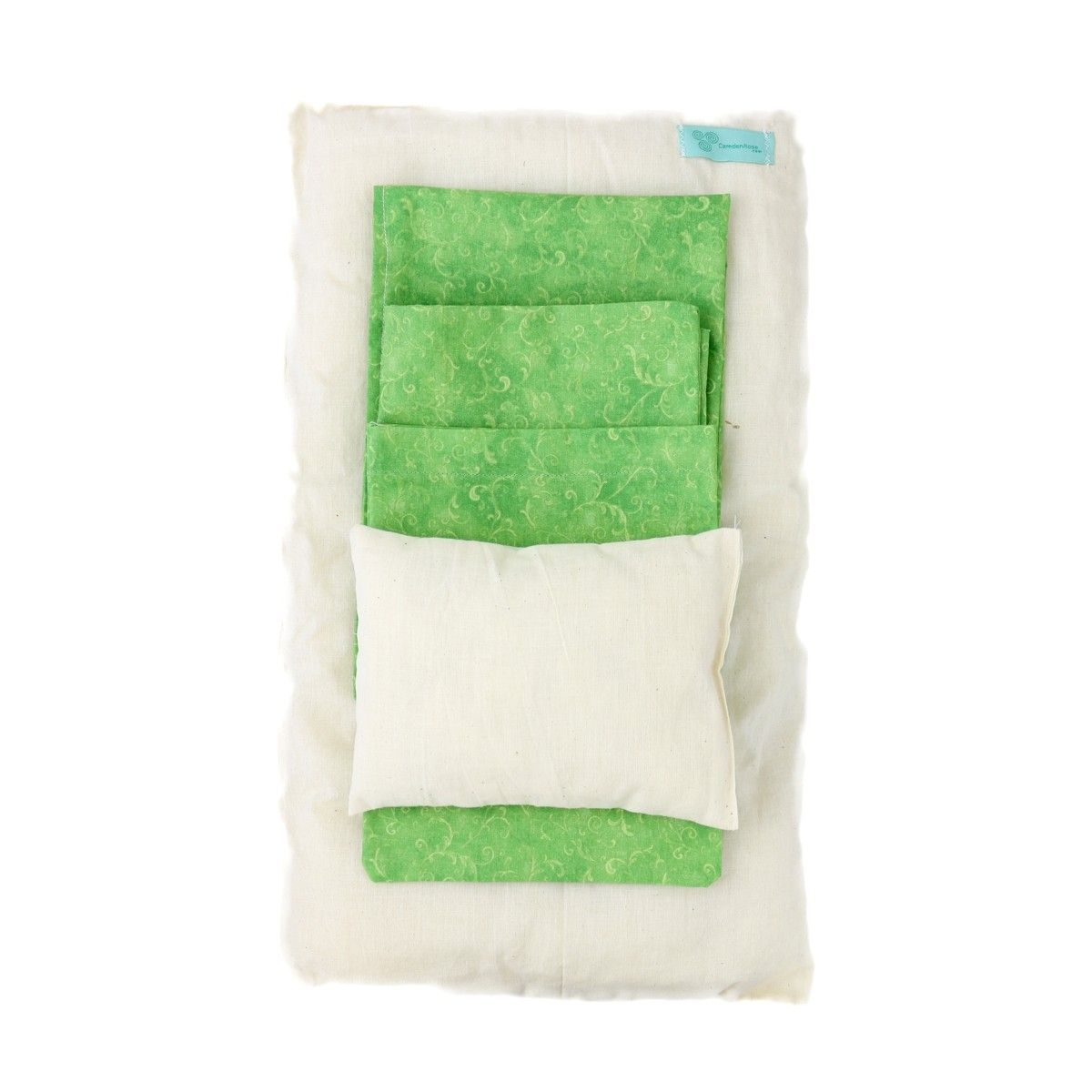 This set comes with pillow sheet sheet for the bed liner top