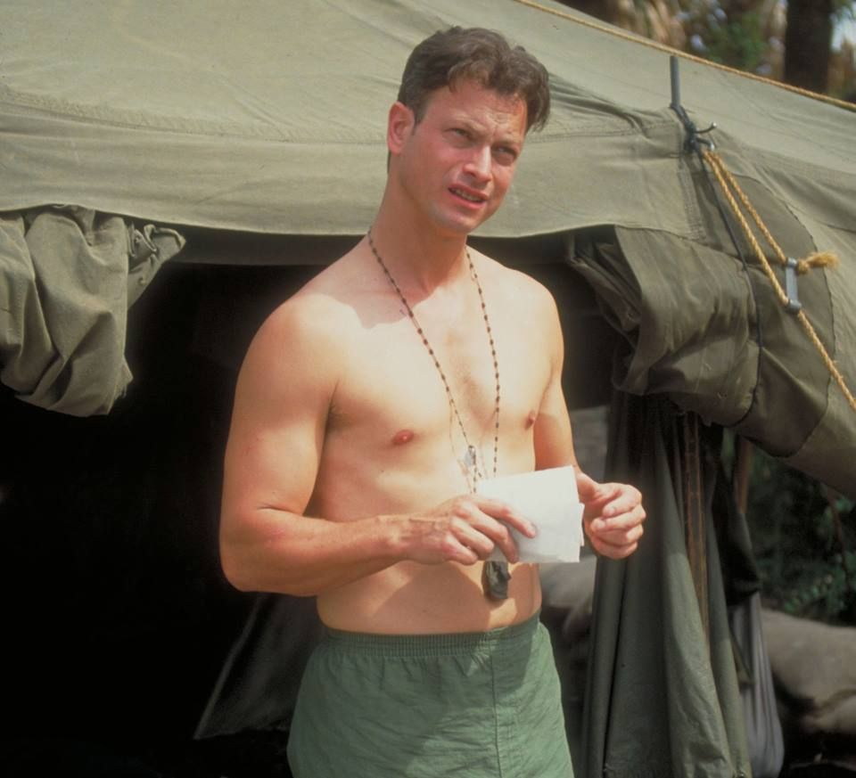 gary sinise shirtless