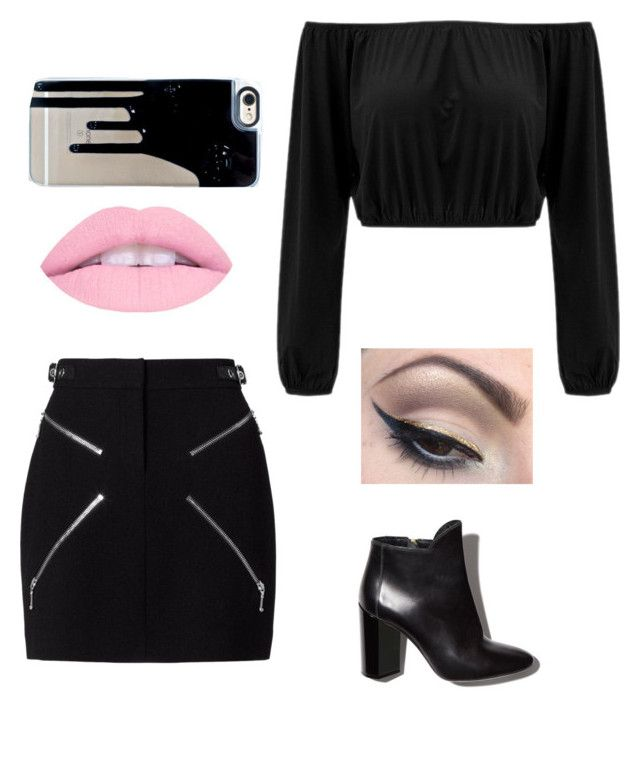 """""""Untitled #67"""" by penguin-ginger on Polyvore featuring Alexander Wang, Mehron and Pierre Hardy"""