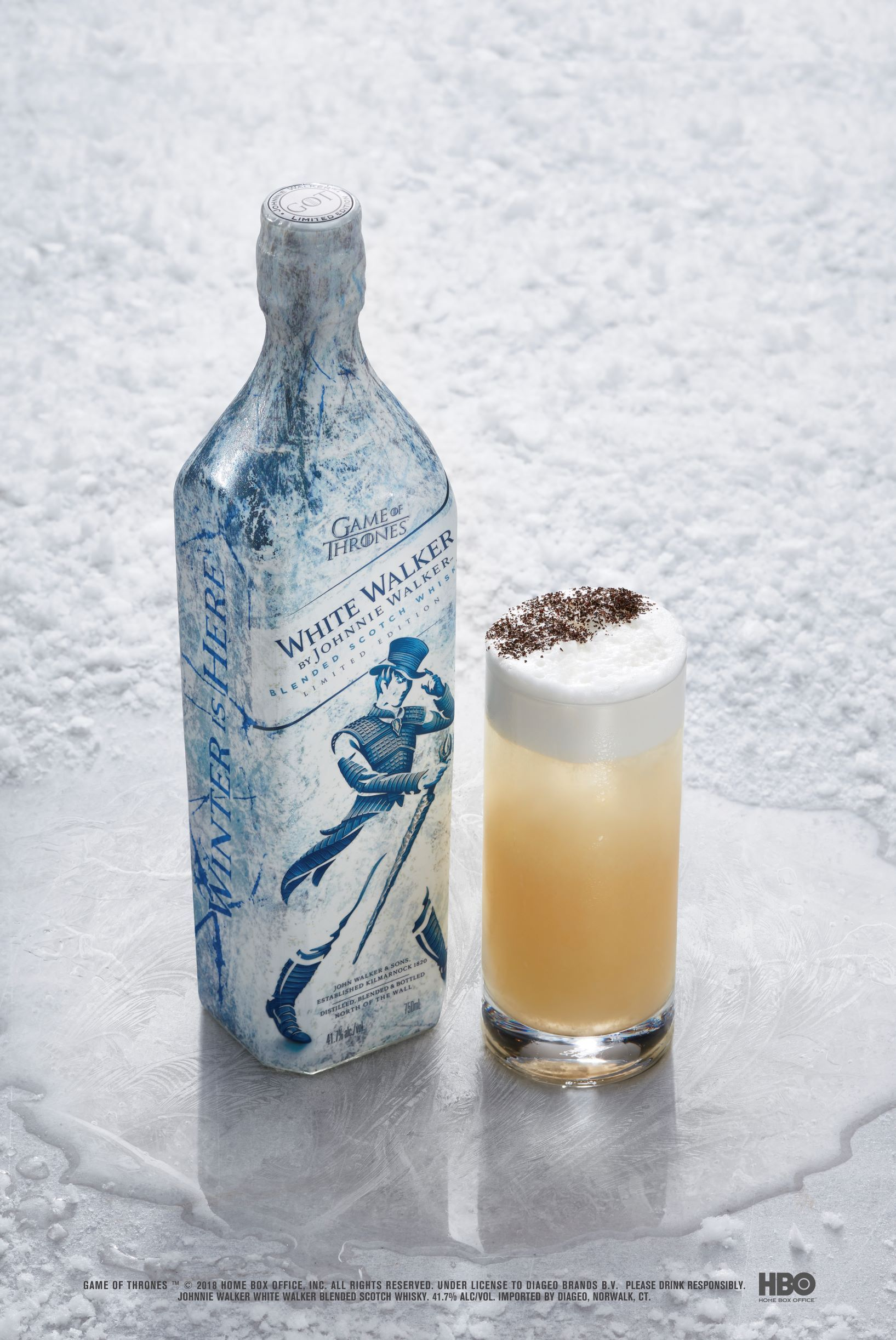 Game Of Thrones Beyond The Wall Game Of Thrones Wine Cosmo Cocktail Johnnie Walker