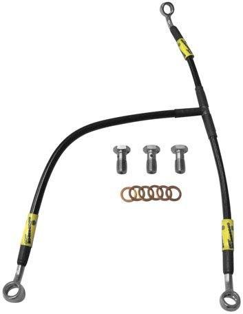 Goodridge Racing Brake Line Kit Front Black for Honda