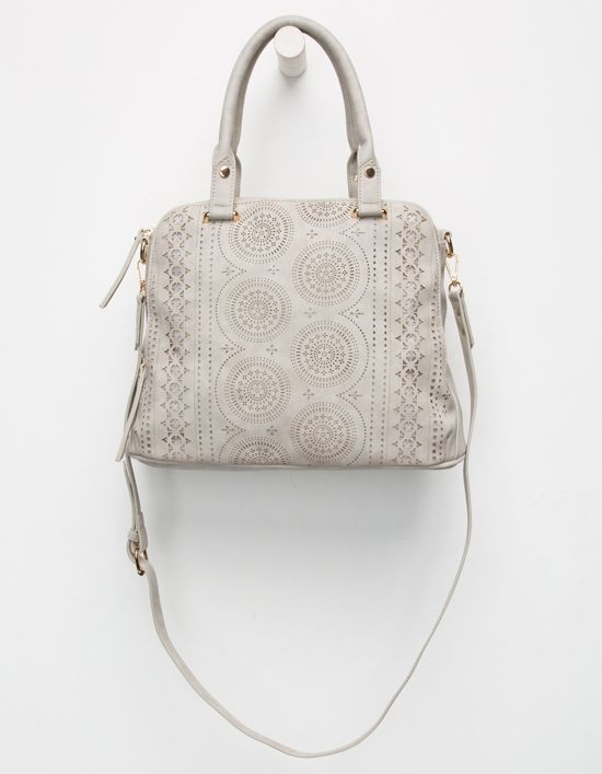 cc459d5618 VIOLET RAY Logan Perforated Satchel Bag