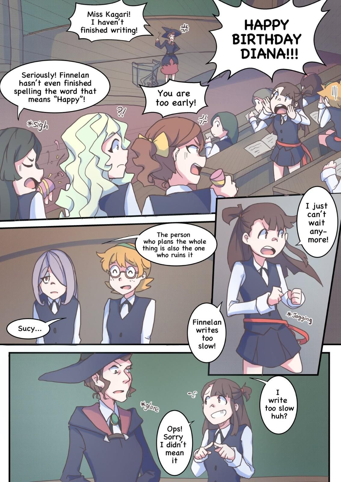 Pin By Chloetse On Diana Akko Little Witch Academy My Little Witch Academia Anime Girlxgirl