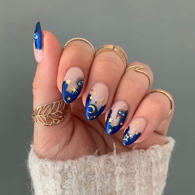 10 Beautiful Nail Designs To Wear This Fall Wonder Forest Beautiful Nail Designs Pretty Acrylic Nails Gorgeous Nails
