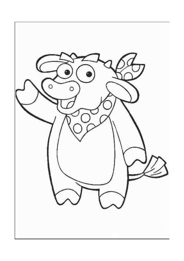 Dora the Explorer Coloring Pages 2 Coloring pages for kids