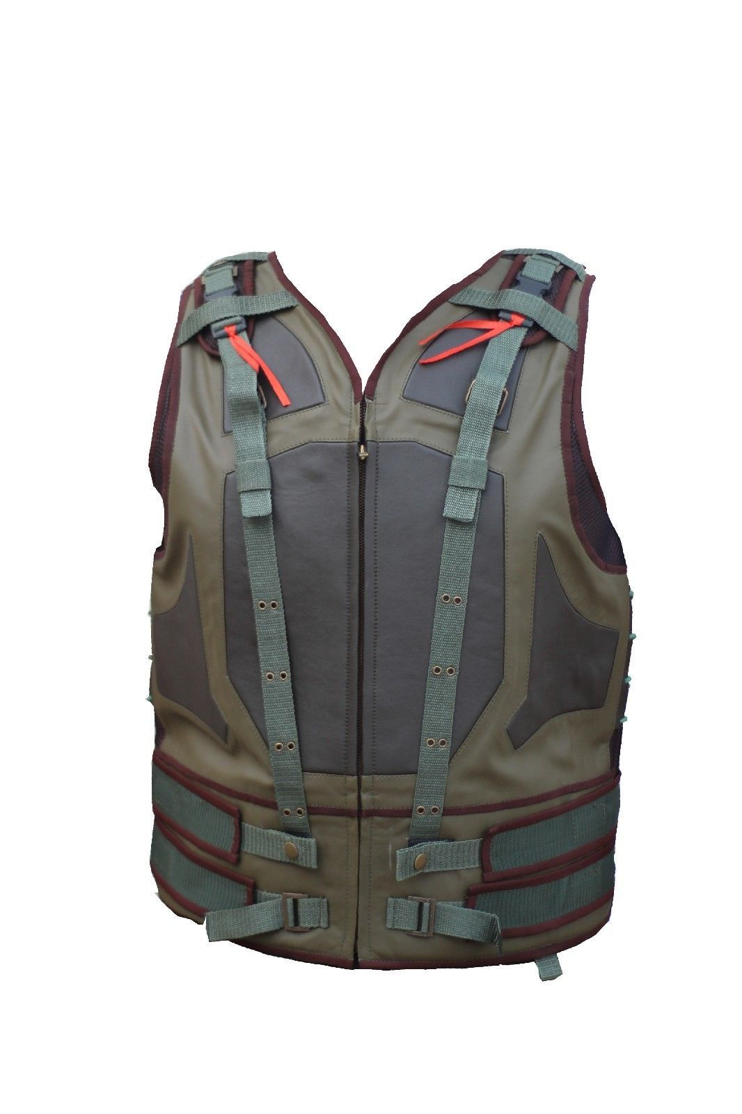 135eac531728 Dark Knight Rises Tom Hardy Bane Mens Leather Vest Product Details   Material   High Quality