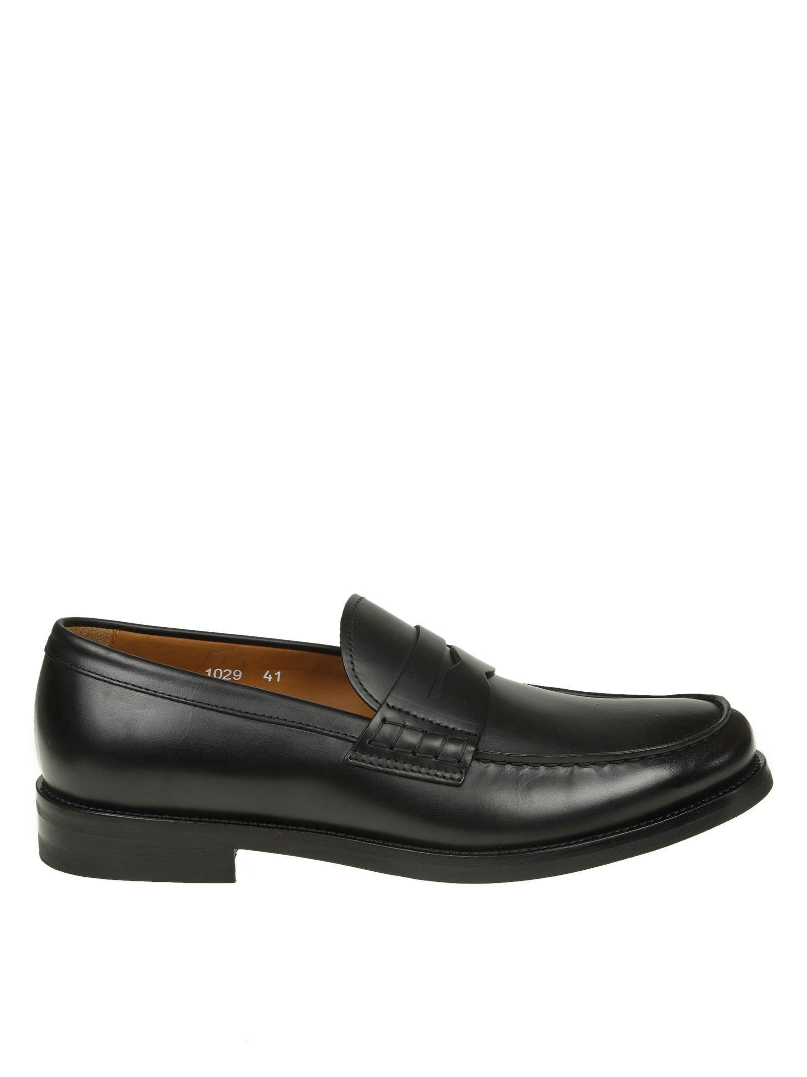 272057cac02 DOUCAL S LEATHER LOAFERS COLOR BLACK.  doucals  shoes