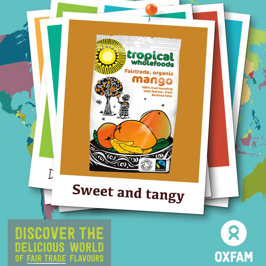 Sweet And Tangy Fairtrade Mango Comes From Burkina Faso West - One of the poorest countries in the world
