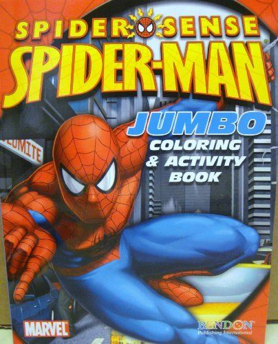 Spider Man Coloring Activity Book C By Marvel 3 50 Spider Man Coloring Activity Book Coloring Act Color Activities Painting Supplies Book Activities