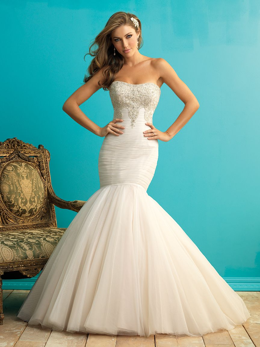 9258 from Allure Bridals | Wedding Dresses | Pinterest | Allure ...