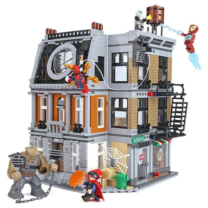 Lego 76108 Marvel Super Heroes Avengers Infinity War Sanctum Doctor Strange New Super Heroes Marvel Building Blocks Toys Lego Marvel Super Heroes Block Toys