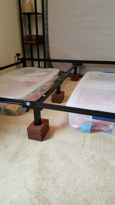 Bed Frame Riser With Images Bed Frame Risers Bed Risers