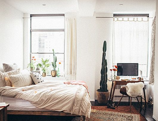 At Home In New York City Apartment Bedroom Decor Apartment Decor Home Decor Bedroom