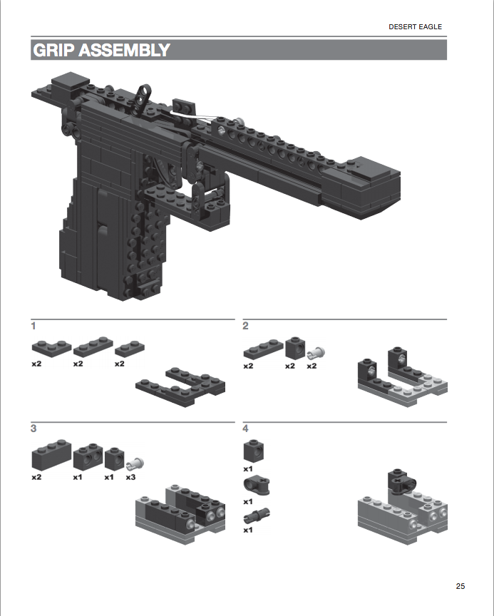 Heavy weapons lego pdf download