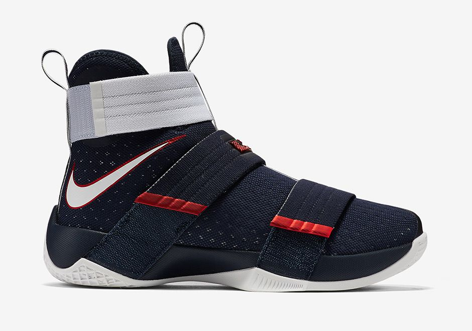 Hot Nike Lebron Soldier 10 Sfg Size 6 Men's White Basketball Shoes Trainers Sneakers