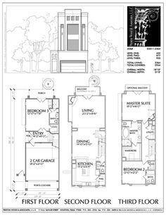 Townhouse Plan D3011