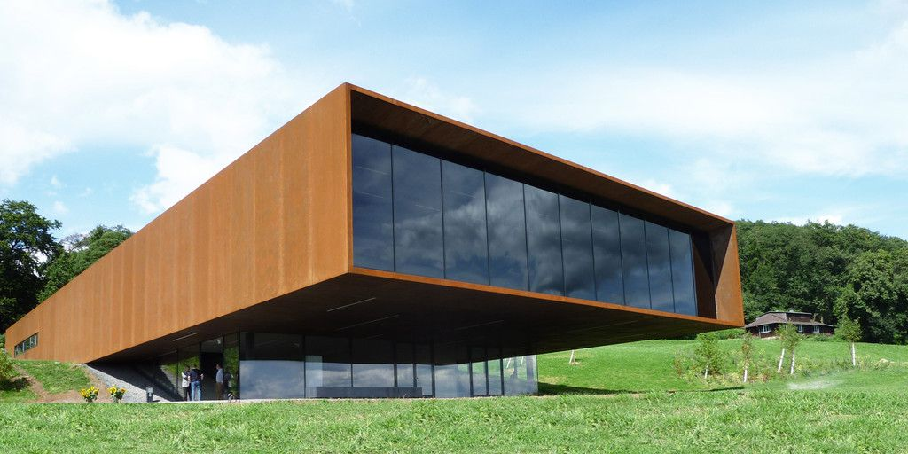 Cortenstahl Fassade Google Suche Architecture Architecture