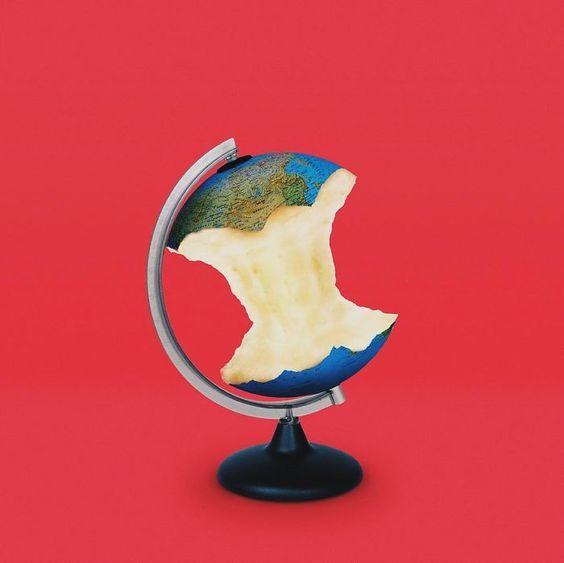 art direction | apple globe: