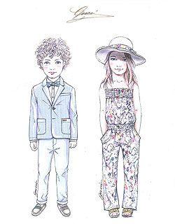 fashion sketches kids google - Sketches Of Kids