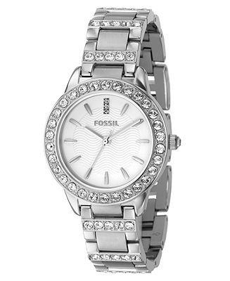 Fossil Watch, Women's Jesse Stainless Steel Bracelet ES2362 - Watches - Jewelry & Watches - Macy's