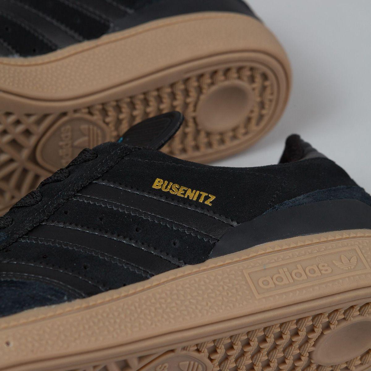 "adidas Busenitz ""Black, Gum & Surf Petrol Blue"""