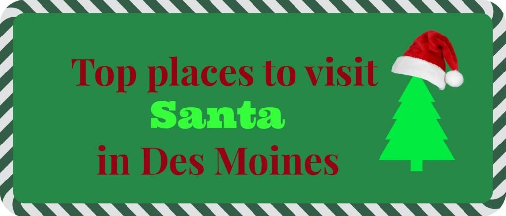 Places to visit Santa - Midwest Mom & Wife