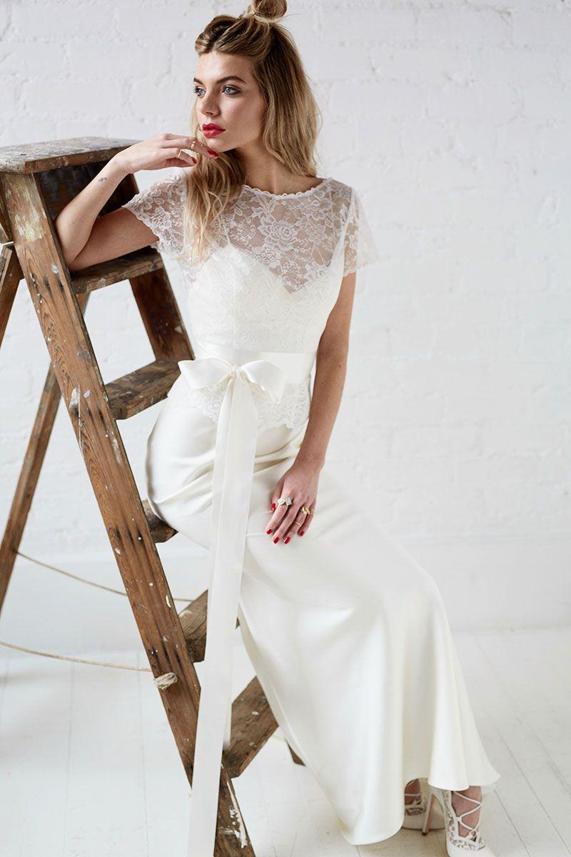 Langley     Charlotte Balbier   wedding dresses   Pinterest ...