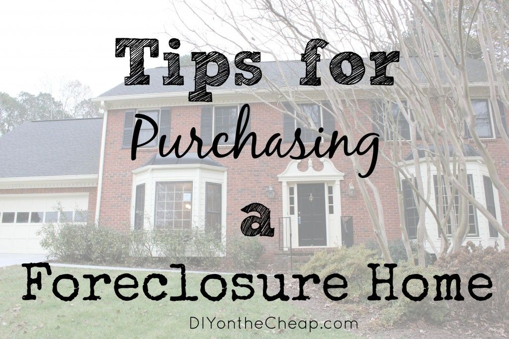Tips for Purchasing a Foreclosure Home | Mls listings, Easy and House