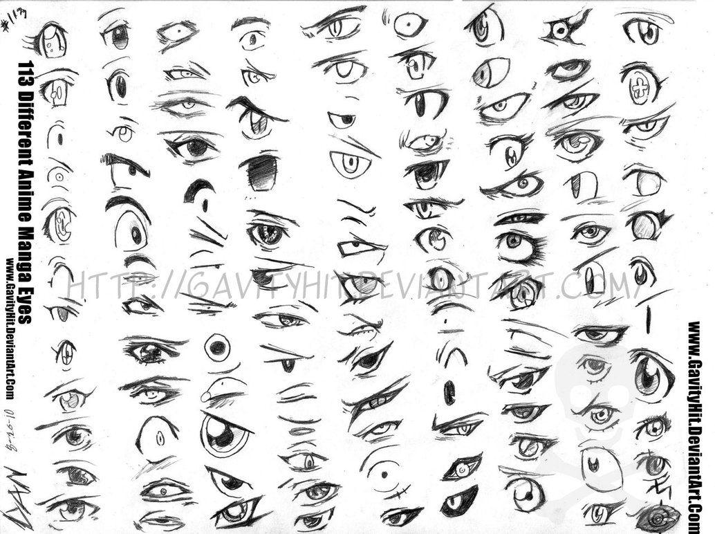 113 Different Anime Manga Eyes By Gh04 On Deviantart Manga Eyes Anime Eyes Eye Drawing