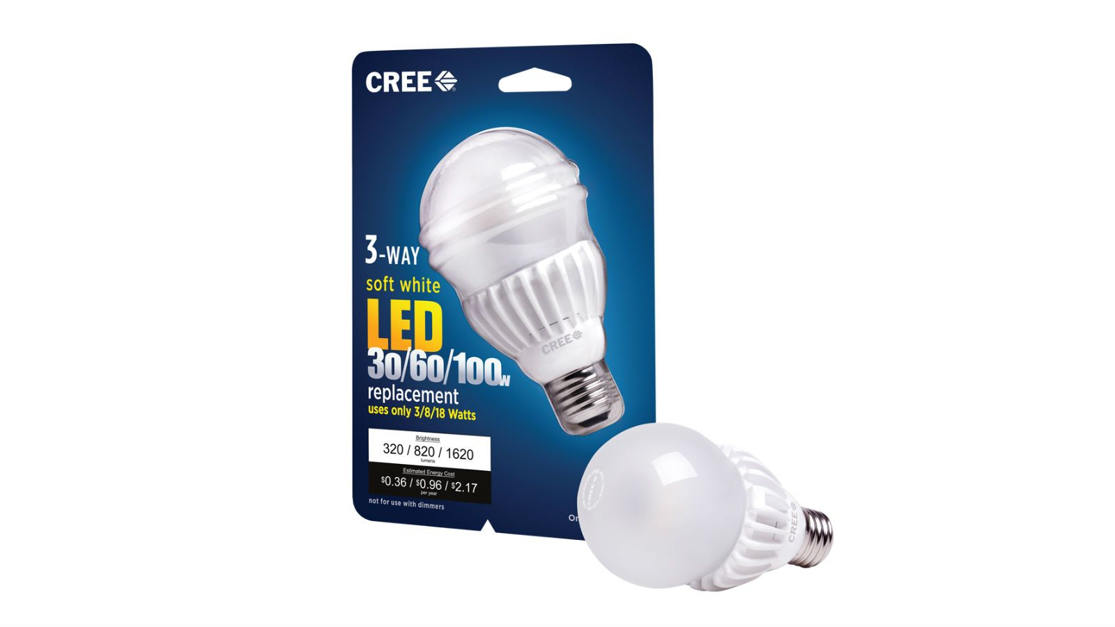 Cree S New 3 Step Led Bulb Brightens Better Than You Re Used To Light Bulb Led Bulb Led Light Bulb