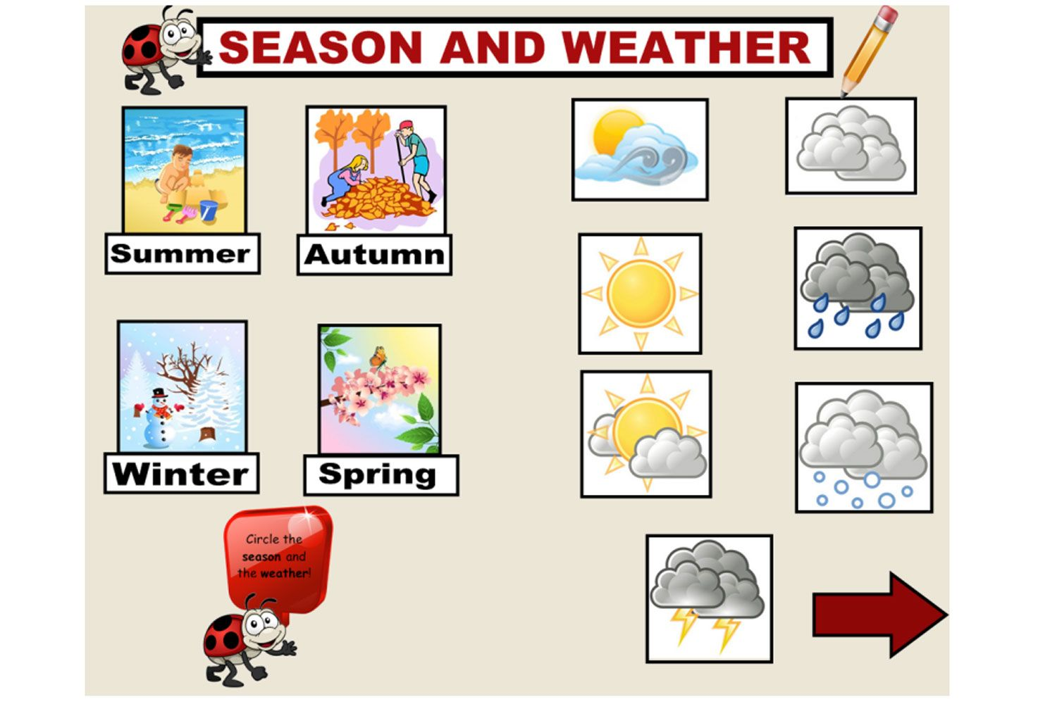 What S The Weather Today Part Of A Kindergarten Morning Routine Iwb Resource Your Students Will