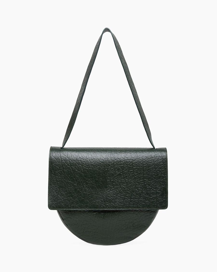 /// MM6 ny maison martin margiela / front flap circle bag