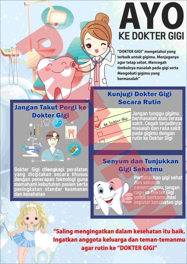 Poster Kesehatan Gigi Dan Mulut Sehat Mirror Advertising Kesehatan Gigi Ukuran Poster Poster