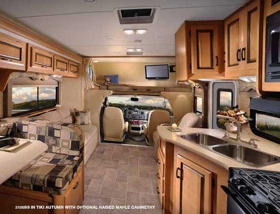 Forest River Sunseeker Class C Motorhome Interior 1.