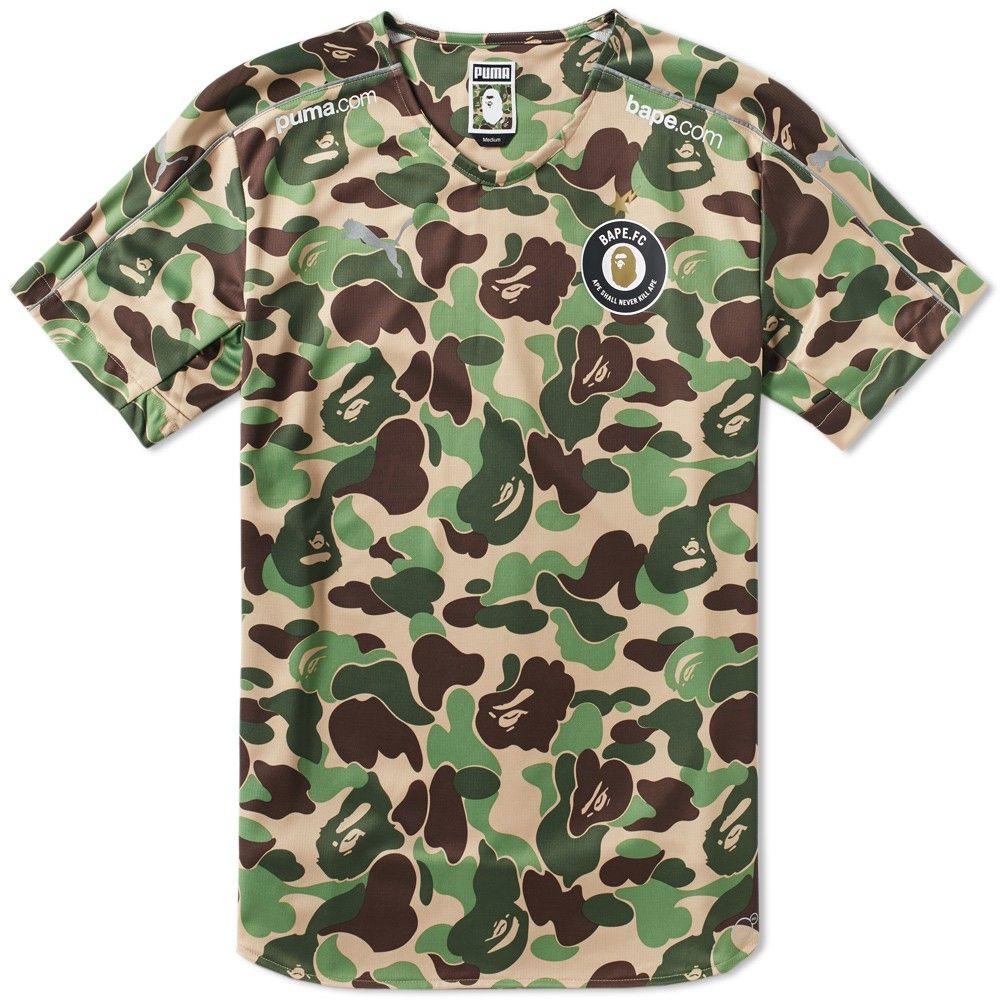 f6eaf8df Puma x FC Bape Replica Shirt | Street Style | Shirts, Bape, Mens fashion